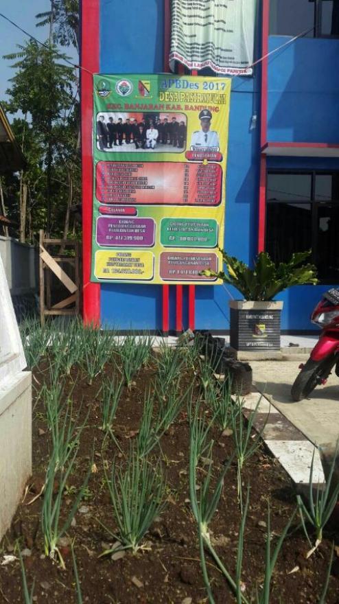 Rekapitulasi APBDes Tahun 2017 Desa Pasirmulya